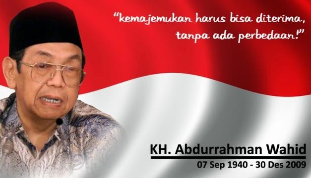 Abdurrahman Wahid (Gus Dur) – Presiden Inspiratif Ikon Pluralisme Indonesia