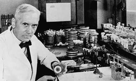 Sir Alexander Fleming – Penemu Penisilin