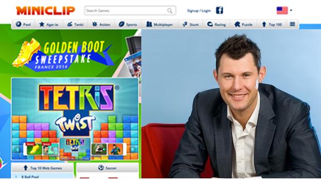 Robert Small – Menciptakan Situs Game Online MINICLIP dari Kamar Tidur