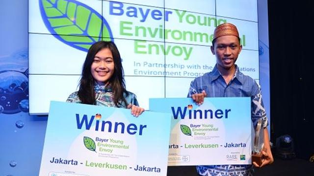 Atika Putri Astrini – Sang Putri Lingkungan Bayer Young Environmental Envoy