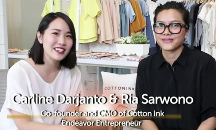 Carline Darjanto dan Ria Sarwono – 2 Founder Cotton Ink
