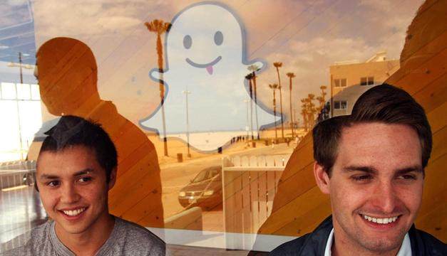 Evan Spiegel, Bobby Murphy, dan Reggie Brown (Snapchat) – 3 Pendiri Snapchat