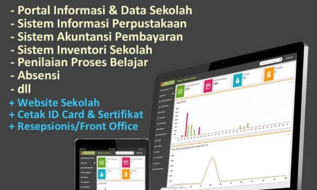 Sistem Informasi Sekolah Lengkap PLUS Website Sekolah dan App Android