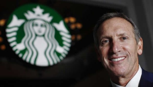 Howard Schultz – CEO Starbucks