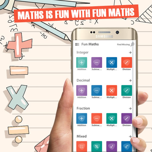 [ANDROID APP] Aplikasi Belajar Matematika Fun Maths – Gamification Maths