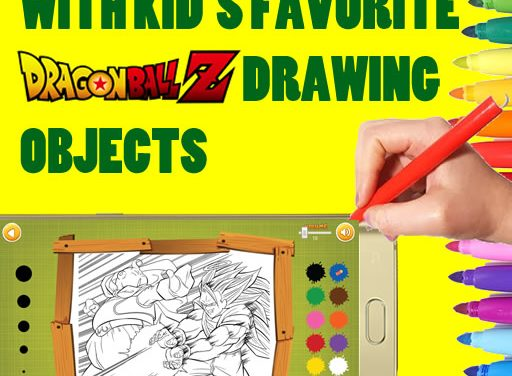[ANDROID APP] Dragon Ball Z – Manga Coloring Game